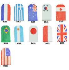 N3 Nail Art Sticker Patch 535 Style Foil Glitter World Olympic FIFA Country Flag