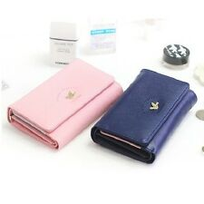 Womens Trifold Button Mini Card Wallet_SHINZI KATOH 3 Stage Medium Wallet V.2