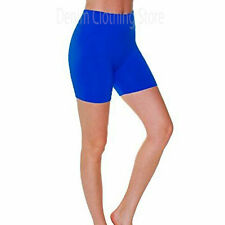 Basic Seamless Soft  Yoga Bike Mini Short Pants Spandex Leggings Tights One Size