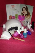 LED Nail Gel Polish Starter Kit set complete with FAST curing lamp