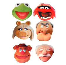 Party Face Mask The Muppets Kermit Miss Piggy Statler Waldorf Costume Masks