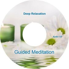 Choose your Guided Meditation Sessions on CD Relaxation Deep Sleep Stress Relief