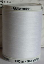 GUTERMANN ~ SEW ALL THREAD ~ POLYESTER ~ choose size and colour