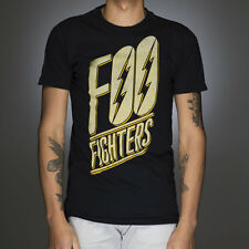 OFFICIAL Foo Fighters - Slanted Logo T-shirt NEW Licensed Band Merch ALL SIZES