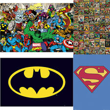 MARVEL COMIC MAXI POSTER BATMAN SUPERHERO WALL LARGE BEDROOM POSTERS MINECRAFT