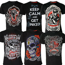 Darkside Clothing Men's Tattoo Influenced Fashion T-Shirts Sold Separately