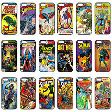 DC Superheroes Comic Book Phone Case Covers for Apple iPhone 4 4s 5 & 5s