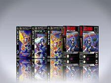 Megaman X - SNES Custom Art Case/Box (*No Game*)