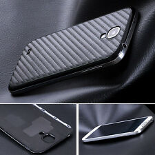 New Carbon Fiber Battery Back Cover Housing For Samsung Galaxy Note 2/3 S 3/4/5
