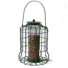 NEW METAL SQUIRREL PROOF BIRD FEEDER HANGING CAGED GUARD BIRD NUT FEEDER LANTERN