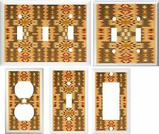 SOUTHWEST RUG IMAGE SHADES OF BROWN HOME DECOR LIGHT SWITCH OR OUTLET COVER V200