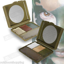 Pocket Sized GI Camouflage Compact Face Paint - Hypo-allergenic, Built In Mirror