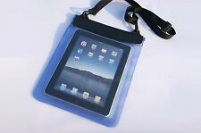 """Blue Waterproof Dry Bag Pouch Case Cover for PC Tablet Ebook Reader 8"""" 8in 2014"""