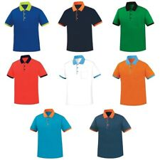 Mens Womens Dryfit Quick Dry Coolmax Golf Tennis Collar Polo Tshirts Top Tee