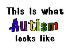 Custom Made T Shirt  This Is What Autism Looks Like Special Needs Awesome Kids