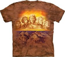 Grandfathers T-Shirt by The Mountain. Native American Tribal Indian Chiefs S-5XL