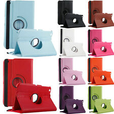 PU Leather 360 Degree Rotating Case Cover for Samsung Galaxy Tab 3 8.0 T 310