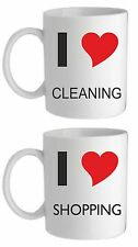 I LOVE MUG, MOTHERS/FATHERS DAY CHRISTMAS BIRTHDAY VALENTINE GIFT PRESENT etc