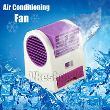 Portable USB Ultra-quiet No Leaves Mini Air Conditioning Fan Aromatherapy Fan