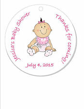 Baby Shower Favor Tags - Baby Boy or Girl