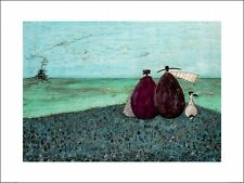 SAM TOFT  THE SAME AS IT EVER WAS ART PRINT WITH FRAMING OPTIONS OR BOX CANVAS