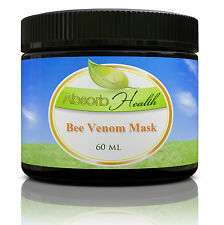 Bee Venom Mask Cream for Day or Night w/ Manuka Honey, Hyaluronic Acid, and Shea