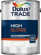 Dulux Trade High Gloss Paint Pure Brilliant White / White ALL SIZES STOCKED