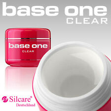 Silcare Base One Clear UV Gel 1 Phasen Klar Aufbaugel Nagelgel 5g 15g 30g 50g