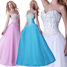 GK Chiffon Evening Party Prom Wedding Bridesmaids Pageant Ball Gown Full Dresses