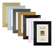 """H7 WOODEN Poster Picture Photo Frame ,In 6 Colours,Free P&P Sizes A4 to 40""""x30"""""""