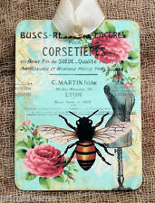 Hang Tags  FRENCH PARIS BEE DRESS FORM ROSE TAGS or MAGNET #20  Gift Tags