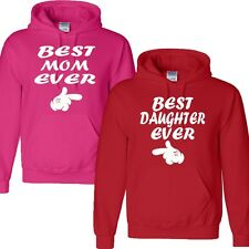 NEW BEST MOM EVER &BEST DAUGHTER EVER HAPPY MOTHER'S DAY GIFT Hooded Sweatshirt
