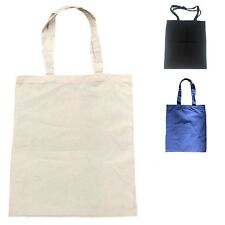 50 LOT Cotton Reusable Grocery Blank Shopping Tote Totes Bag Bags WHOLESALE BULK