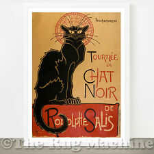 CHAT NOIR THEOPHILE STEINLEIN QUALITY POSTER PICTURE PRINT Sizes A4 to A0 *NEW*