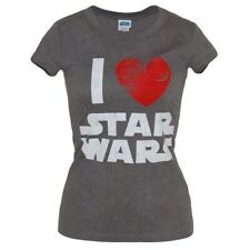 I Heart  Star Wars Junior Women's T-Shirt