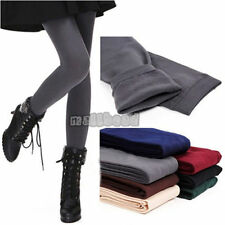 New Women's Winter Thick Warm Skinny Slim Stretch Footless Tights Leggings Pants