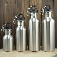 Stainless Steel Ewer Sports Bottle Outdoor Ride Vicycle Water 350/500/750/1000ml