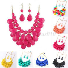 New Hot! Selling Fashion Mixed Style Bib Chunky Statement Necklace Style U Pick