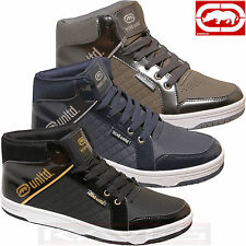 Mens Ecko High Tops Trainers Designer Ankle Pumps Boots Basketball Retro PACKO