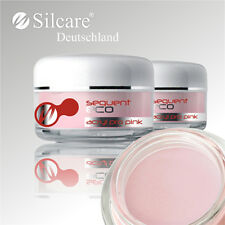 Silcare Sequent ECO Acryl Pro Pulver Pink Rosa Powder Puder (NSI IBD Shop)