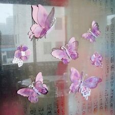 New Style 3D Butterfly Wall Stickers Home Decals Diy Wall Art Decorations Decor