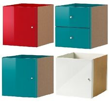 "NIB EXPEDIT Insert Door Drawer Pink White Turquoise Red 13x13"" Discontinued"