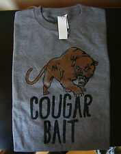 Cougar Bait Milf Sexy Older Women Younger Man Funny Humor Sexual Men's Tee Shirt