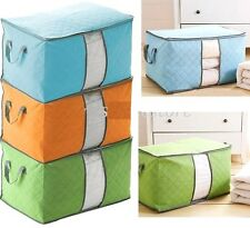 5106 Non-woven Portable Fold Pouch Holder Blanket Quilt Pillow Storage Box Bag