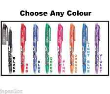 PILOT FRIXION BALL 0.5 - Erasable Coloured Ballpoint Pens 8 colors Made in Japan
