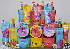 6 VICTORIA'S SECRET SUMMER FRESHES PEONY VIOLET WATER LILY LOTION MIST SOUFFLE