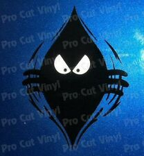 Evil Monster Small to Large Peeping Peek a Boo Funny Car Van Stickers Decals d2