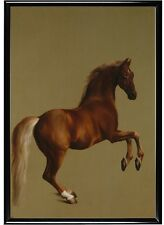 George stubbs picture print painting wall art whistlejacket horse dog animal