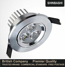 Premier Dimmable LED Recessed Ceiling Down Light Cabinet Lamp Downlight UK