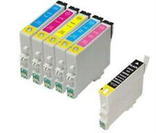 T0801/2/3/4/5/6 Non OEM Black & Colour Ink Cartridge 6 Pack for Epson